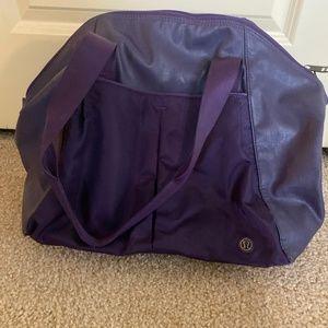 Lululemon Purple Athletic Bag